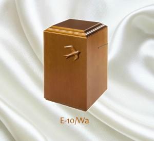 Uurna E-10/Wa, koivu, pähkinänsävy